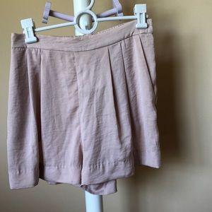 Blush Silky Shorts